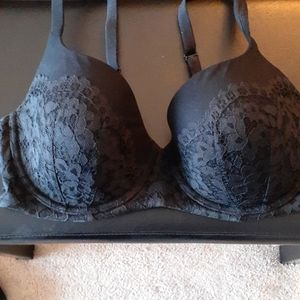 Body by Victoria Lined Demi Bra with Lace - 34DDD